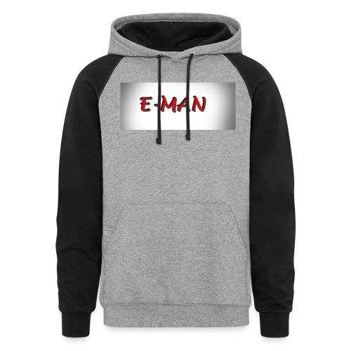 E-MAN - Colorblock Hoodie