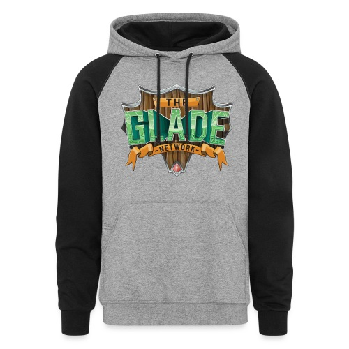The Glade Network Logo - Unisex Colorblock Hoodie