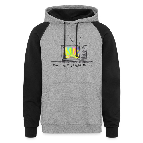 Breaking Daylight Media 0 - Unisex Colorblock Hoodie
