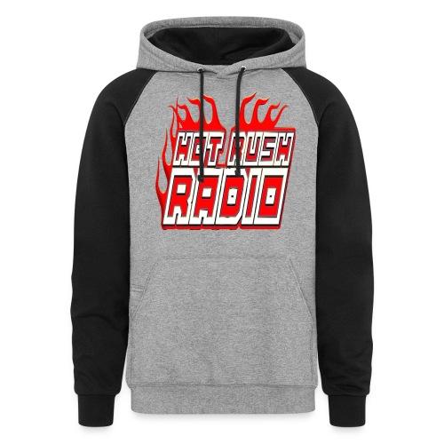 worlds #1 radio station net work - Unisex Colorblock Hoodie