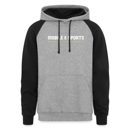 MOBILE E-SPORTS - Unisex Colorblock Hoodie