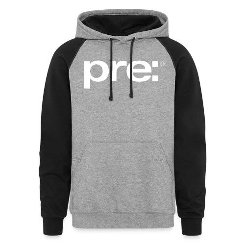 pre: range of clothing - Unisex Colorblock Hoodie