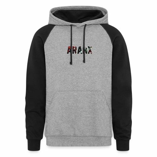 Aranx Logo - Colorblock Hoodie