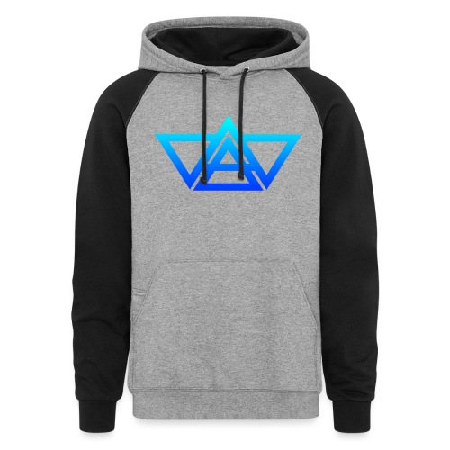 THIAXIS TRIANGLES LOGO - Colorblock Hoodie