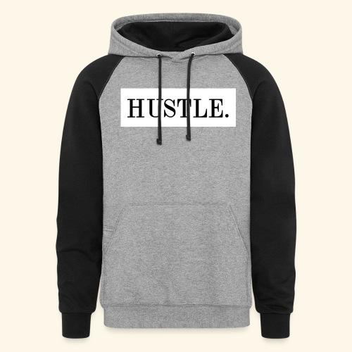 Hustle - Colorblock Hoodie