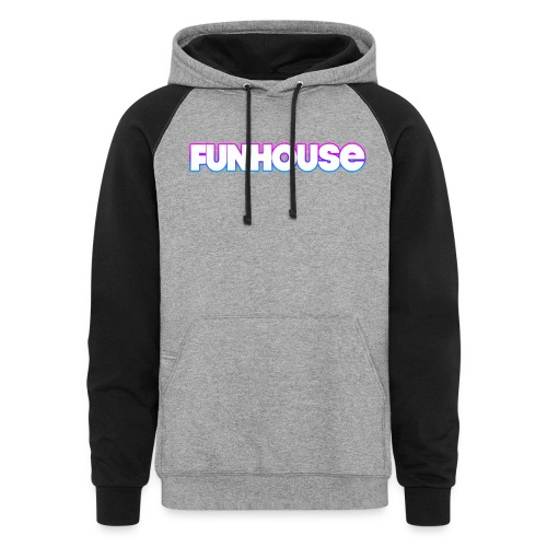 Funhouse Family Logo - Colorblock Hoodie