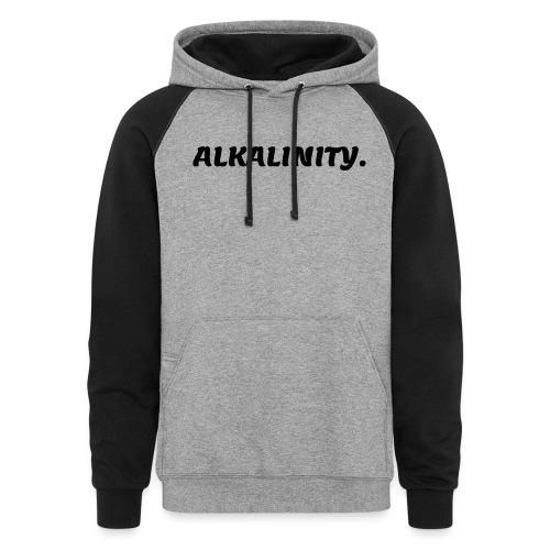 Alkalinity - BLK - Colorblock Hoodie