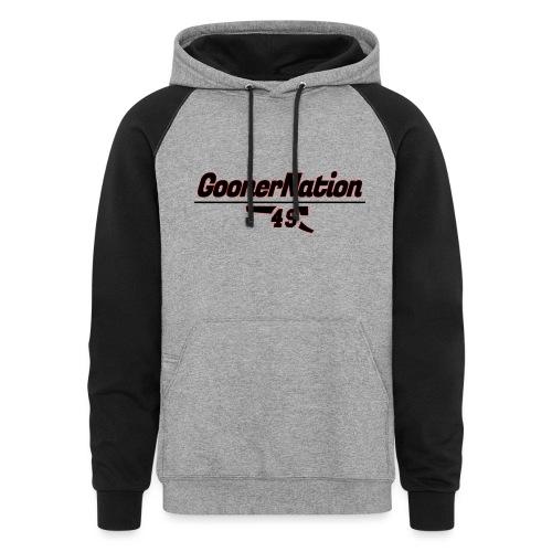 GoonerNationSpreadshirt - Unisex Colorblock Hoodie