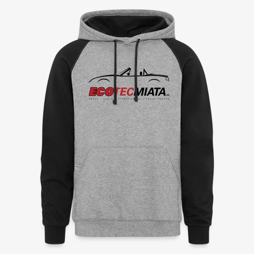 Ecotec Miata Logo - Colorblock Hoodie