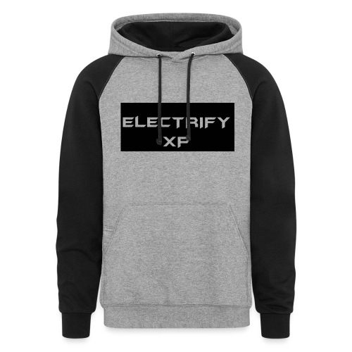 ElectrifyXP Basic Jumper - Unisex Colorblock Hoodie