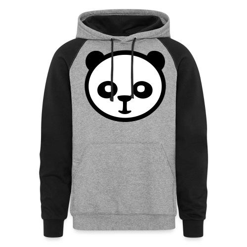 Panda bear, Big panda, Giant panda, Bamboo bear - Unisex Colorblock Hoodie
