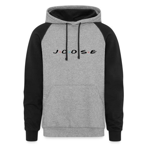 JOOSE Friends - Unisex Colorblock Hoodie