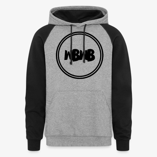 WBWB logo - Colorblock Hoodie