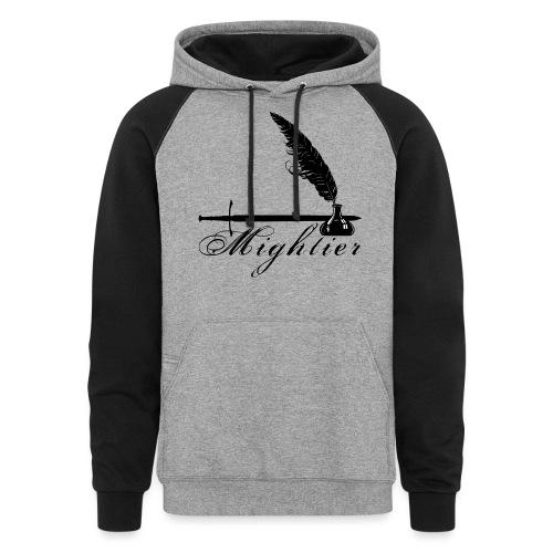 mightier - Colorblock Hoodie