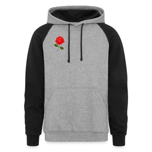 Rose Shirt - Colorblock Hoodie