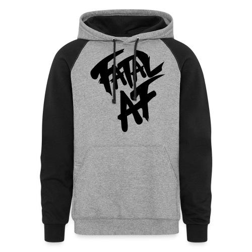 fatalaf - Unisex Colorblock Hoodie
