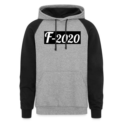 F-2020 - Unisex Colorblock Hoodie