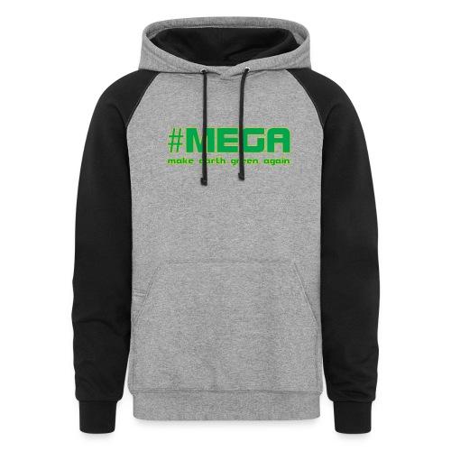 #MEGA - Colorblock Hoodie