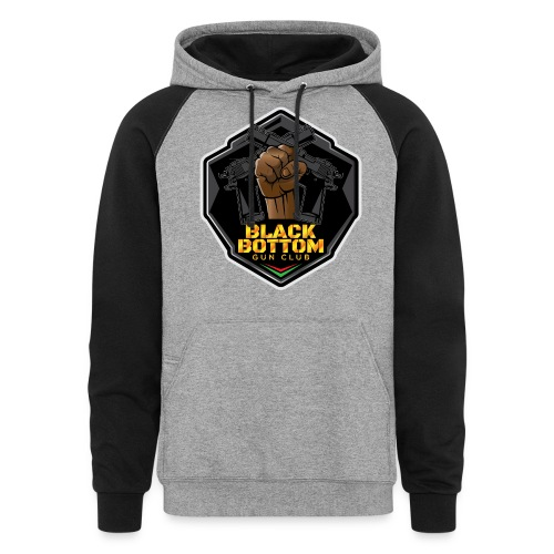 Black Bottom Gun Club - Unisex Colorblock Hoodie
