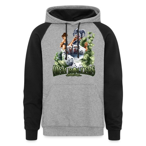 High Roller by RollinLow - Colorblock Hoodie
