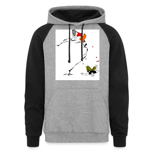 Lady Climber - Unisex Colorblock Hoodie