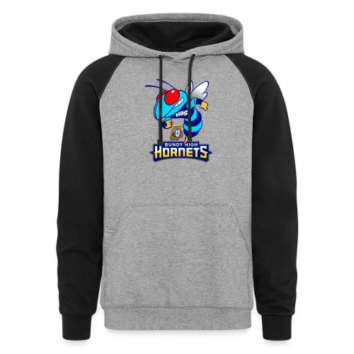 Hornets FINAL - Colorblock Hoodie