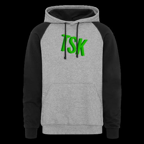 Meget simpel TSK trøje - Colorblock Hoodie