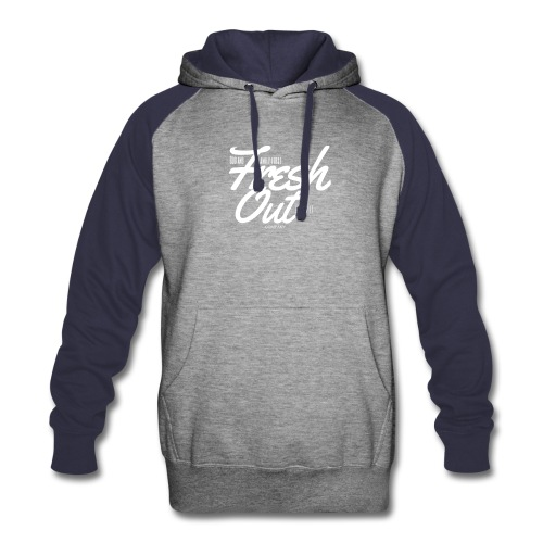 Fresh Out Beats Logo 24 - Colorblock Hoodie
