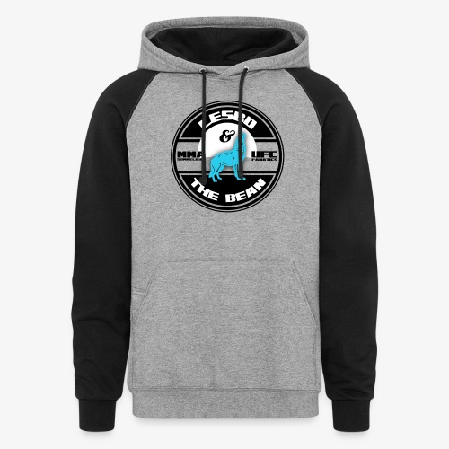 Lesbo and The Bean Logo - Colorblock Hoodie