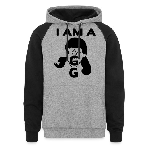 GG-shirt - Unisex Colorblock Hoodie