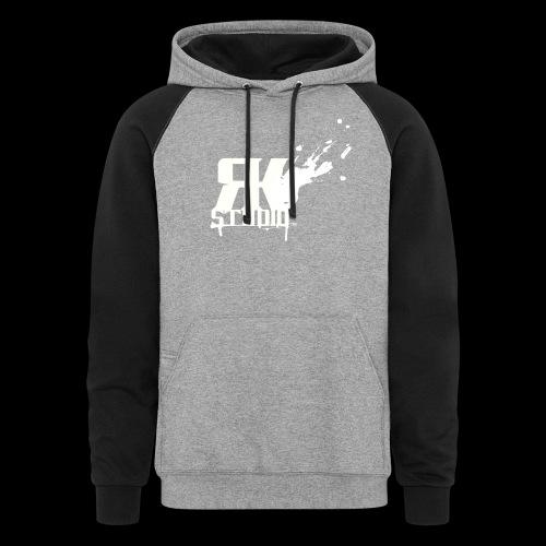 RKStudio White Logo Version - Colorblock Hoodie