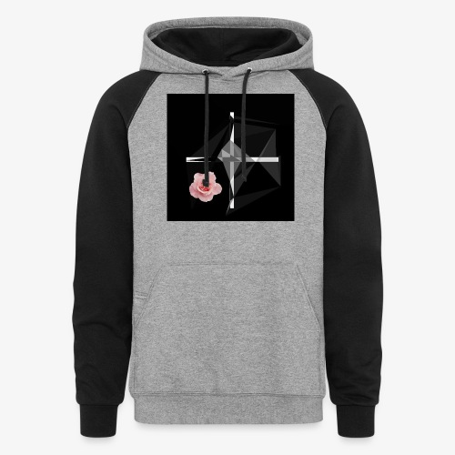 Roses and their thorns - Unisex Colorblock Hoodie