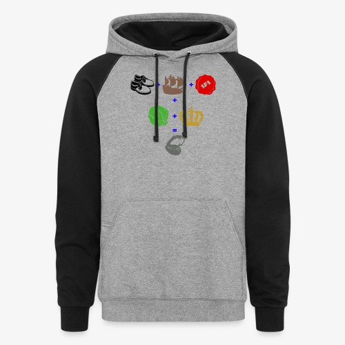 walrus and the carpenter - Colorblock Hoodie