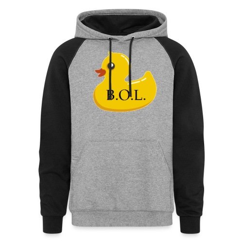 Official B.O.L. Ducky Duck Logo - Colorblock Hoodie