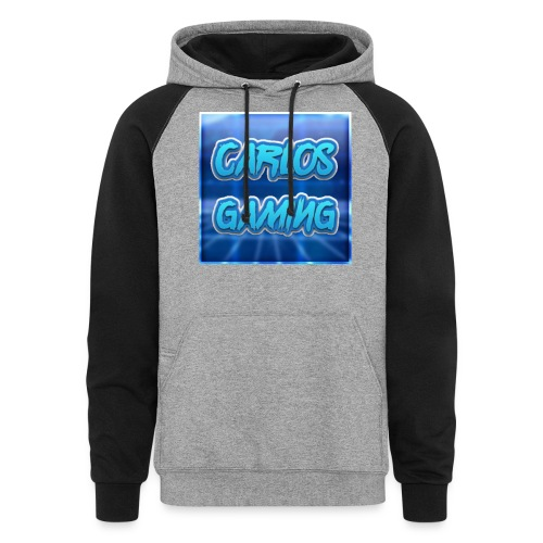 Carlos Gaming merchandise - Colorblock Hoodie