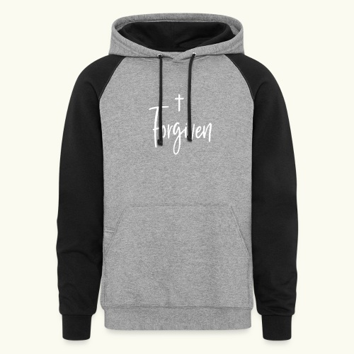 Forgiven - Colorblock Hoodie
