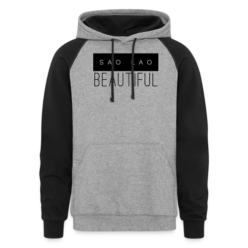 Sao Lao Beautiful - Colorblock Hoodie