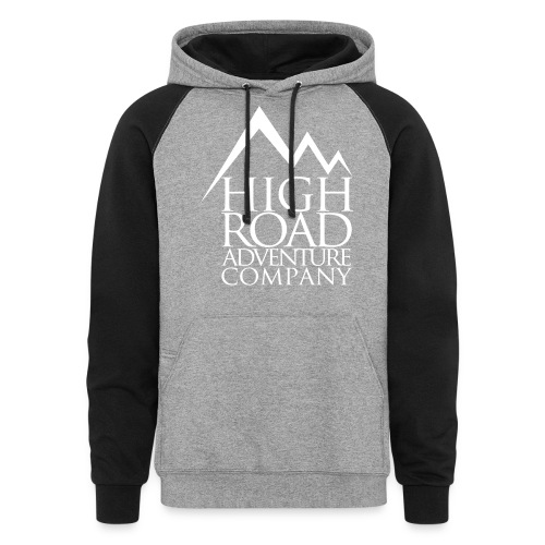 High Road Adventure Company Logo - Colorblock Hoodie