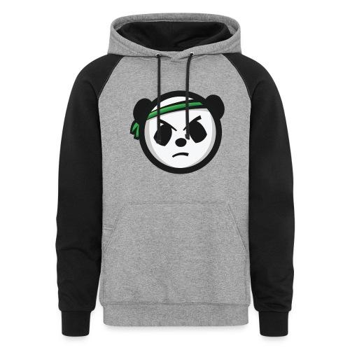 Markee Panda Logo - Unisex Colorblock Hoodie