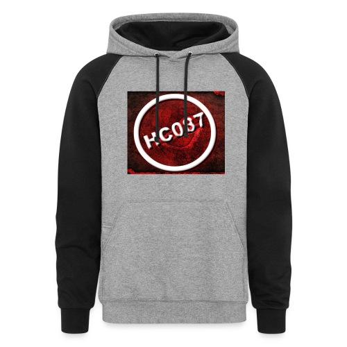 Logo jpg - Colorblock Hoodie