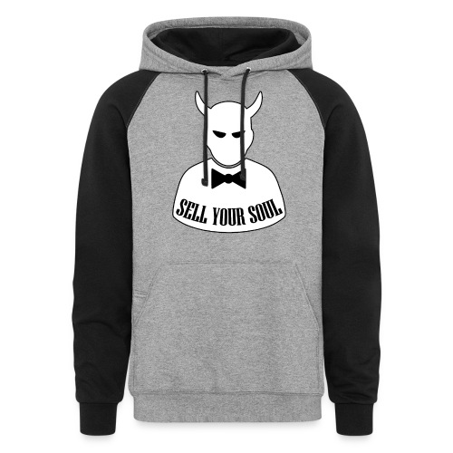 Sell Your Soul - Unisex Colorblock Hoodie