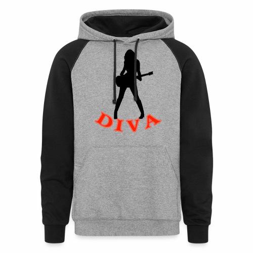 Rock Star Diva - Unisex Colorblock Hoodie