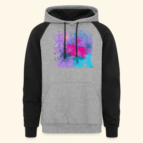 Abstract - Unisex Colorblock Hoodie