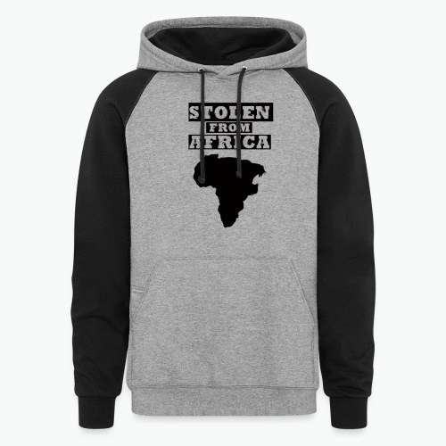 STOLEN FROM AFRICA LOGO - Colorblock Hoodie