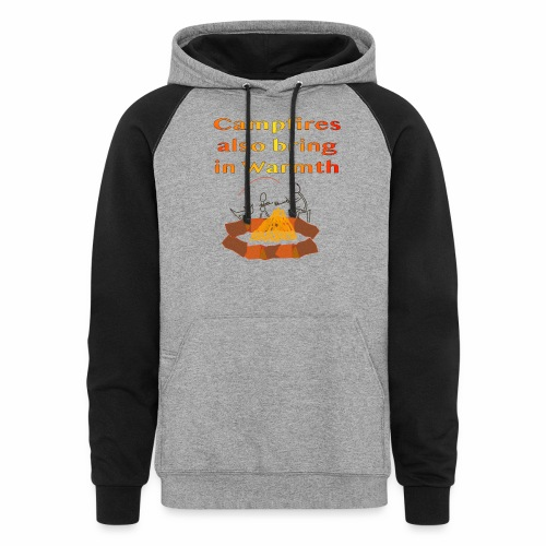 Around the Campfire - Colorblock Hoodie