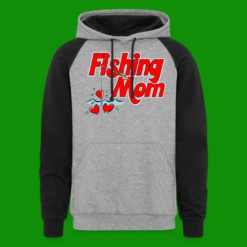 Fishing Mom - Unisex Colorblock Hoodie