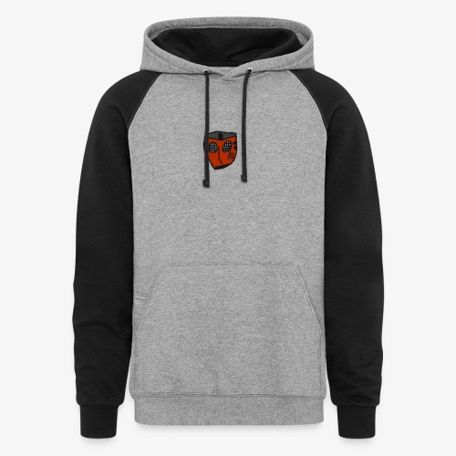 Scratched Mask MK IV - Colorblock Hoodie