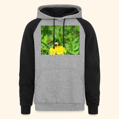 Dandelion Bee - Colorblock Hoodie