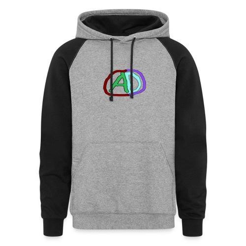 hoodies with anmol and daniel logo - Colorblock Hoodie