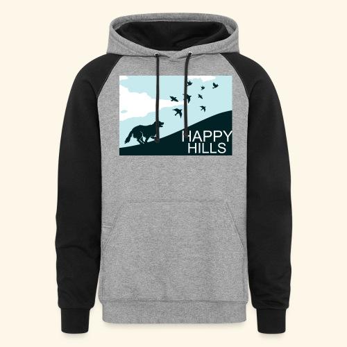 Happy hills - Colorblock Hoodie